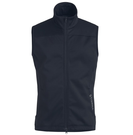Herr Gale Softshellväst Navy