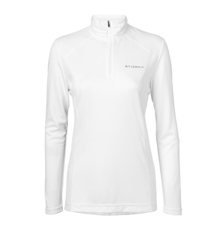 Halo 1/2 zip Funktionströja White
